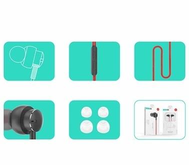 Lopard Xipin HX-Y03 3.5mm Kulakiçi Stereo Kulaklık Yüksek Bas Tiz Uyumu Renkli
